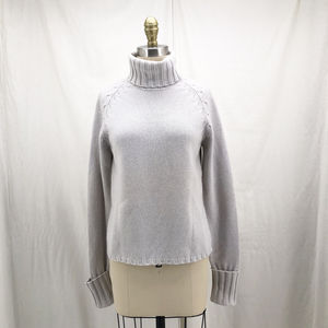 BANANA REPUBLIC 100% Cashmere Turtleneck Sweater